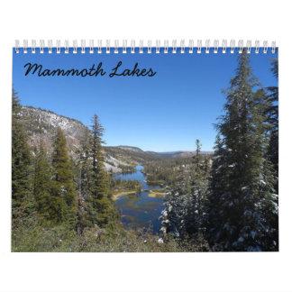 Mammoth Lakes 2017 Calendar