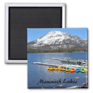 Mammoth Lakes, CA 2 Inch Square Magnet