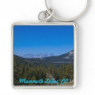 Mammoth Lakes, CA keychain keychain