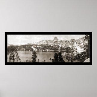 Mammoth Lakes CA Photo 1911 Poster