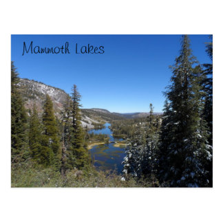 Mammoth Lakes, CA Postcard