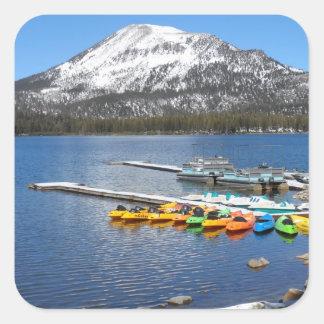 Mammoth Lakes, CA Square Sticker