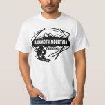 Mammoth Mountain California black ski value tee