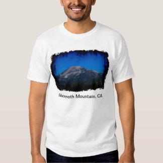 Mammoth Mountain ligero sucio, CA Playeras