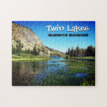 """Mammoth Mountain Twin Lakes Puzzle<br><div class=""""desc"""">The beautiful Twin Lakes in Mammoth.</div>"""