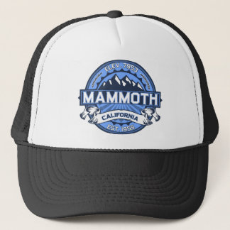 Mammoth Mtn Blue Trucker Hat