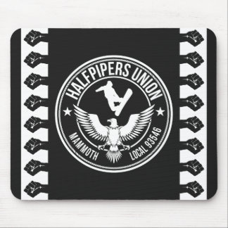 Mammoth Mtn Halfpipers Union Mouse Pads