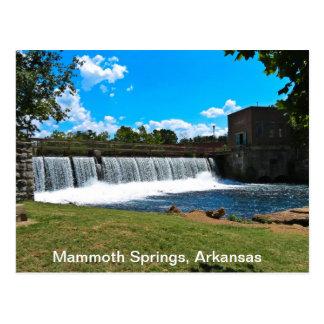 Mammoth Springs Arkansas Postcard