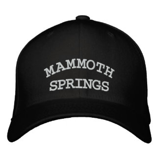 MAMMOTH, SPRINGS EMBROIDERED BASEBALL CAP