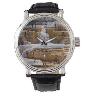 Mammoth Springs Falls Wrist Watch