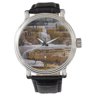 Mammoth Springs Falls Wrist Watches