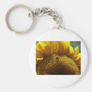mammoth sunflower 2 basic round button keychain