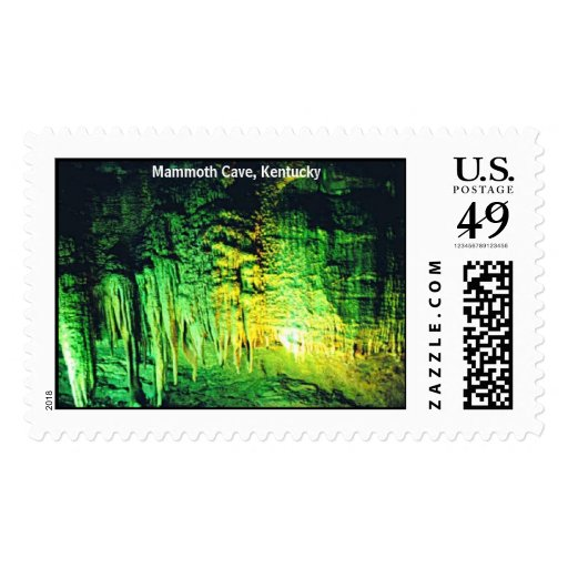 MammothCave3, Mammoth Cave, Kentucky Stamp