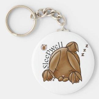 Mammy Round Rabbit-Sleepwell-Keychains Keychain