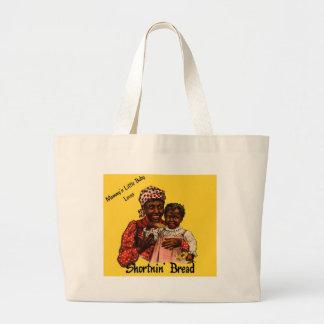 Mammy's Little Baby Loves Shortnin' Bread Jumbo Tote Bag