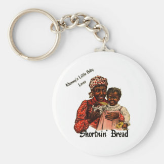 Mammy's Little Baby Loves Shortnin' Bread Keychain