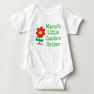 Mamo's Little Garden Helper Baby Bodysuit