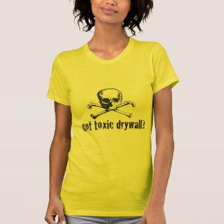 ¿Mampostería seca tóxica conseguida? Camisas