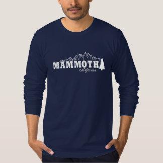 Mamut, CA - camiseta fina del jersey de American Playera