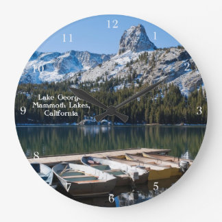 Mamut de George del lago Reloj Redondo Grande