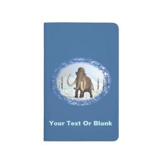 Mamut lanoso cuadernos grapados