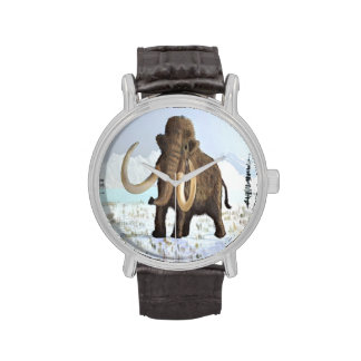 Mamut lanoso relojes de mano