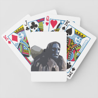 mamuthones bicycle playing cards