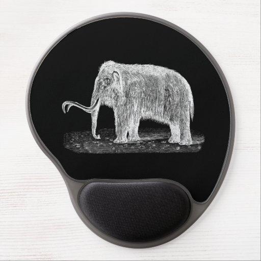 Mamuts lanosos del ejemplo del mamut lanoso del vi alfombrillas con gel
