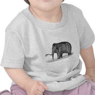 Mamuts lanosos del ejemplo del mamut lanoso del vi camiseta