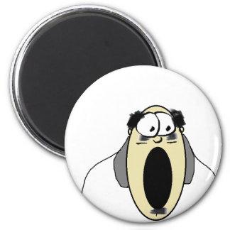 man 2 inch round magnet