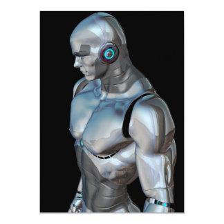 man-320276 ROBOCOP ROBOTS ANDROIDS MAN FUTURISTIC Card