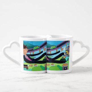 Man about town, Taipei, Taiwan Coffee Mug Set