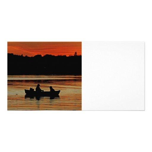 Man and Best Friend Photo Card Template