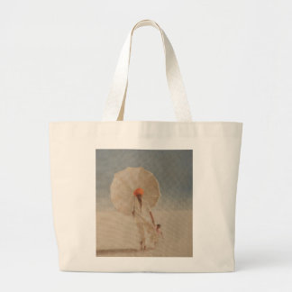 Man and Child I 2010 Large Tote Bag
