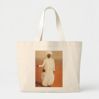 Man and Child II 2010 Large Tote Bag