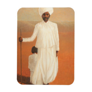 Man and Child II 2010 Magnet