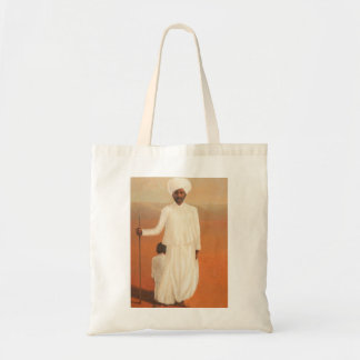 Man and Child II 2010 Tote Bag