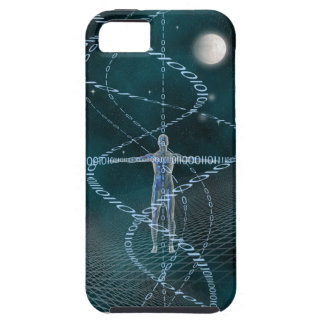 Man and Cyberspace iPhone 5 Covers