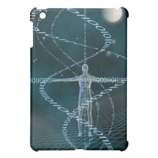 Man and Cyberspace Cover For The iPad Mini