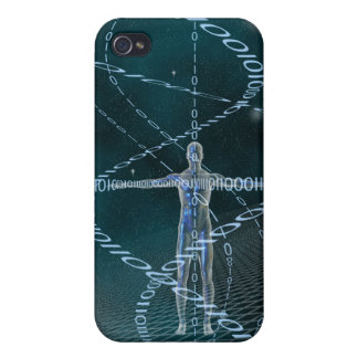 Man and Cyberspace Case For iPhone 4