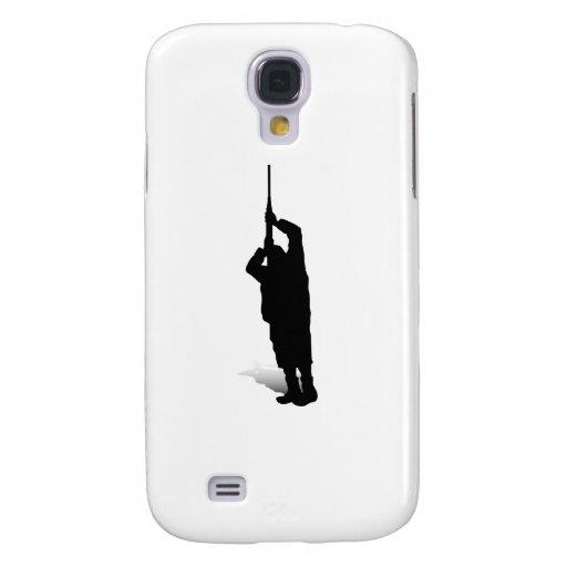 Man and Gun 3 Galaxy S4 Case