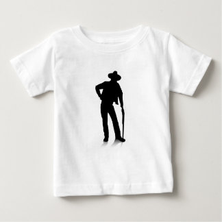 Man and Gun Baby T-Shirt