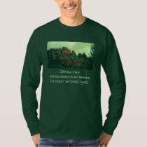 man and nature lakota proverb T-Shirt