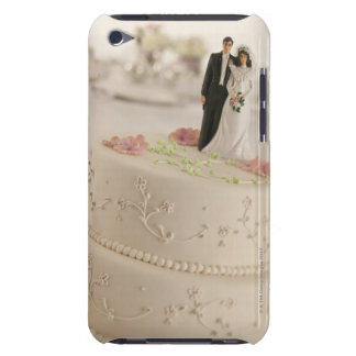Man and wife figures on wedding cake barely there iPod cover