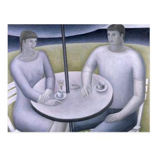 Man and Woman 1998 Postcard