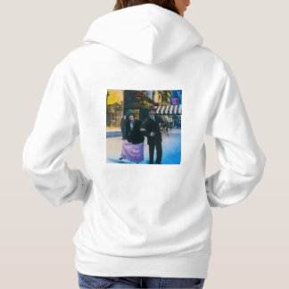 Man and woman dance on street 1900 NYC Hoodie
