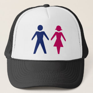 Man And Woman Trucker Hat