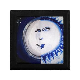 Man As The Moon and Woman As the Sun Keepsake Box