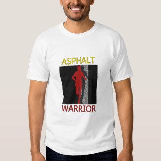Man Asphalt Warrior Runner T Shirt