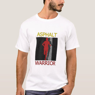 Man Asphalt Warrior Runner T-Shirt